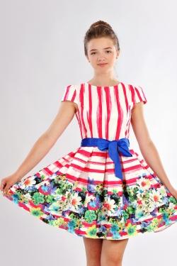 Платье подростковое 379-1