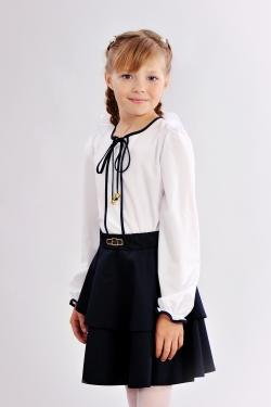 Школьная блузка 627-1