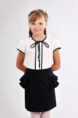 Школьная блузка 627