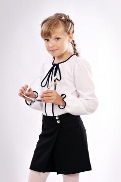 Школьные шорты-юбка 805-2