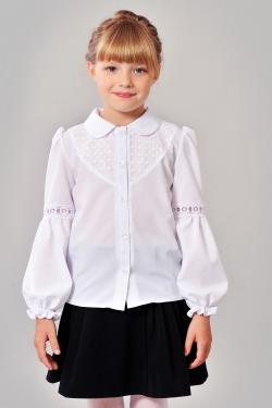 Шкільна блузка 603-1