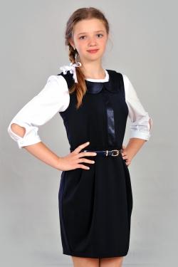 Школьный сарафан 351-1