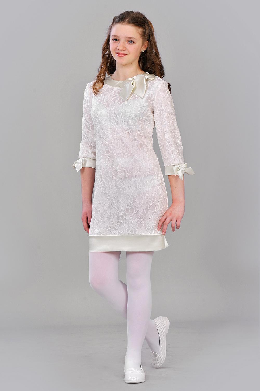 Гіпюрове плаття для дівчинки