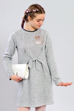Підліткове плаття з зав'язками