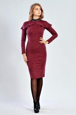 Модне бордове плаття