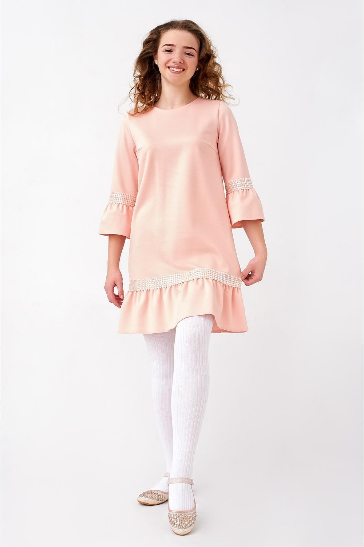 Плаття для дівчинки з перлами