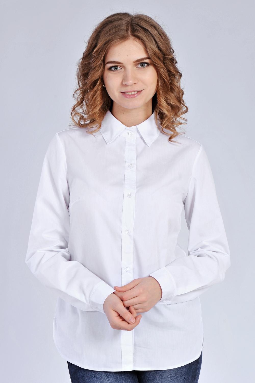 Класична біла сорочка з бавовни