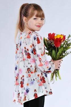 Детская блузка 615-2