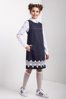 Школьное платье 21121
