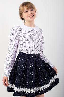 Шкільна блуза 12010