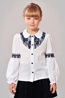 Шкільна блузка 603-2