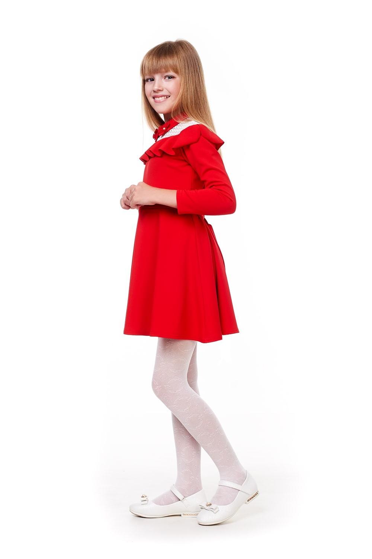 Червоне плаття для дівчинки
