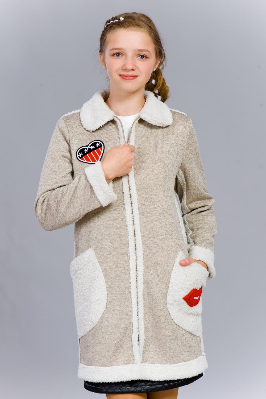 Теплий молодіжний кардиган