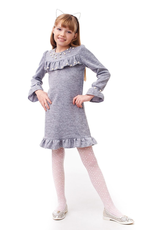 Дитяче плаття з перлами