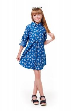 Платье-рубашка детская 322
