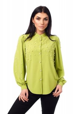 Красива бірюзова блузка