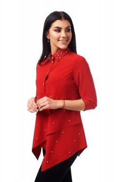 Червона блузка жіноча