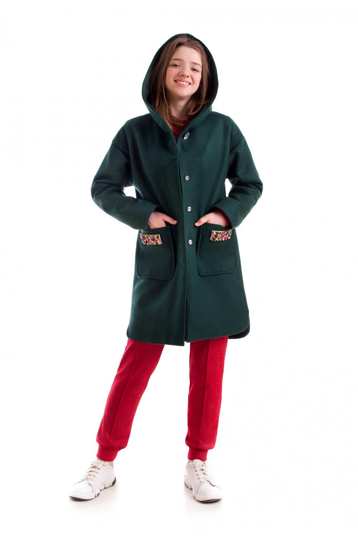 Стильне підліткове пальто