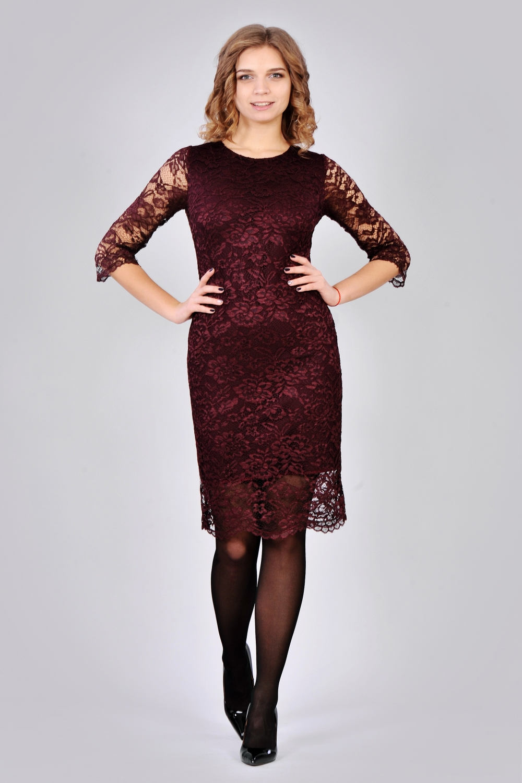 Мереживне плаття Марсала