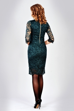 Святкове мереживне плаття