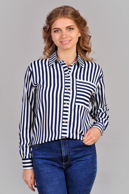 Жіноча асиметрична сорочка